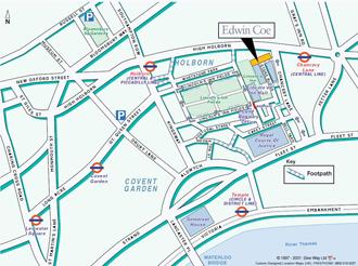 Edwin Coe Map